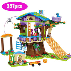 building, Toy, house, Tree