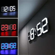 ledwallclock, led, thermometerclock, Led Clock