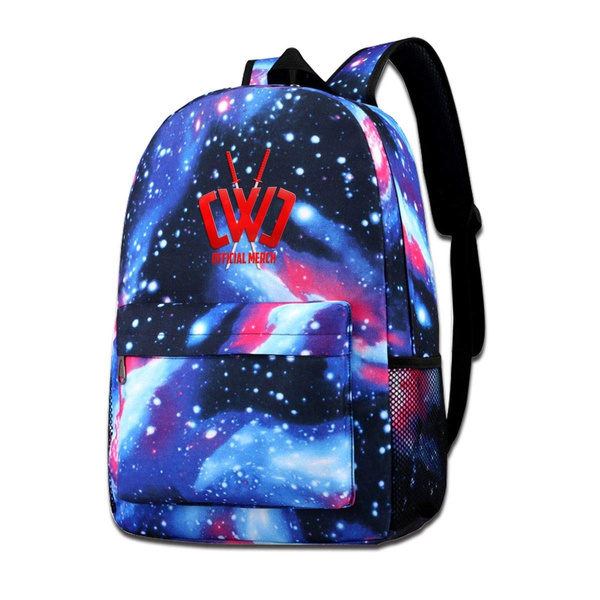sdfasdfafd CWC Chad Wild Clay Galaxy Sky Shoulder School Backpack For Teen Boys And Girls Fashion Colorful Rucksack