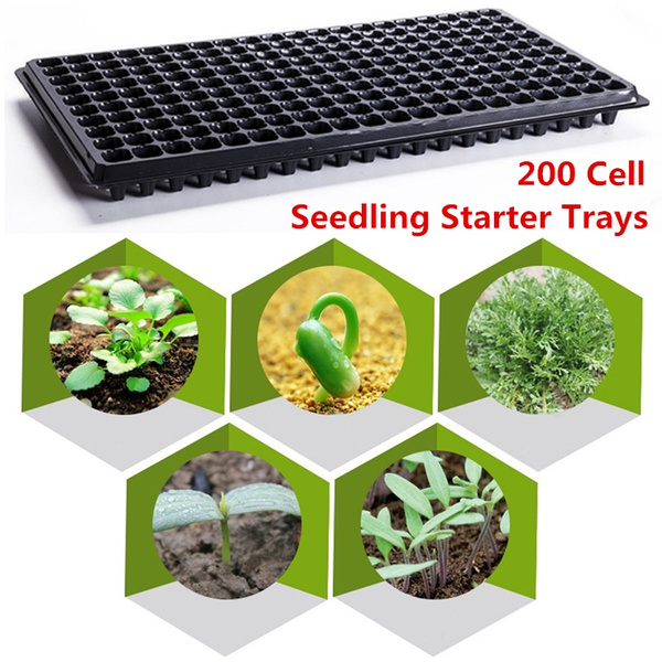 10//30X Seedling Plant Seed Starter Grow Tray Germination Propagation Cell