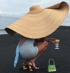 Summer, Fashion, Beach hat, uvprotection