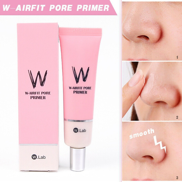 W-AIRFIT PORE PRIMER Concealer Whitening Primer Base Cream For ...