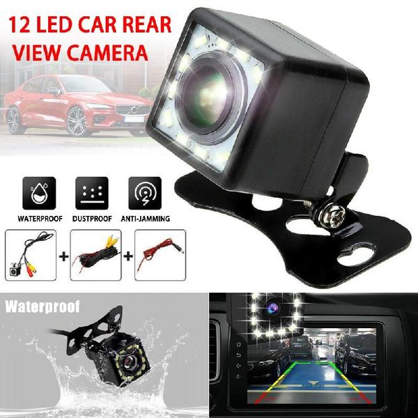 Car Rear View Reverse Backup Parking Camera 8 LED HD Waterproof Night Vision GA