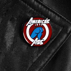 americaasspin, Superhero, Jewelry, Pins