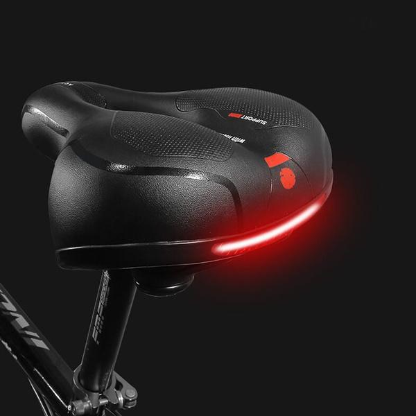 Bicycle Seat Comfortable MTB Saddle Mountain Gel Pad Sports Soft Cushion Seat