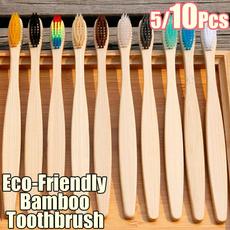 rainbow, dentalcare, Wooden, Toothbrush
