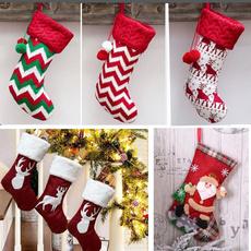 plaid, Stockings, festivalstocking, Gifts