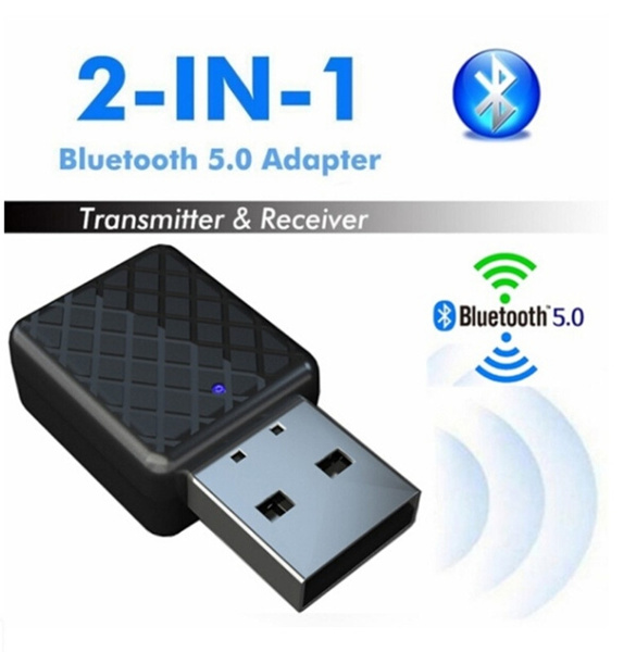 USB Blue-tooth Adapter Transmitters 5.0 Receiver for TV//PC Speaker Headphone New