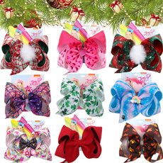 bowknot, christmasaccesorie, Christmas, kidshairbow