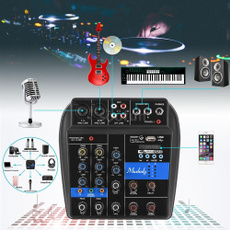 4channelmixer, Dj, mixingcontroller, usbmixingconsole