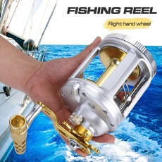 spinningfishingreel, trollingfishingreel, Aluminum, Metal