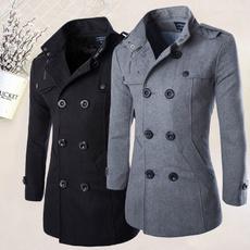 worstedcoat, menlongjacket, Fashion, Winter