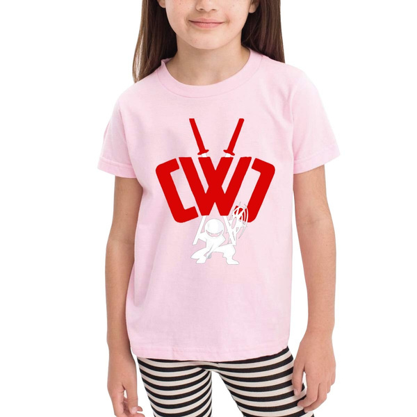 CWC Chad Wild Clay Boy Short Sleeve T-Shirt for Kids Tee Soft Cotton Shirt