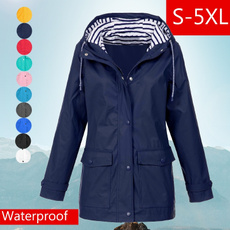 Fashion, waterproofcoat, Plus Size, Spring/Autumn