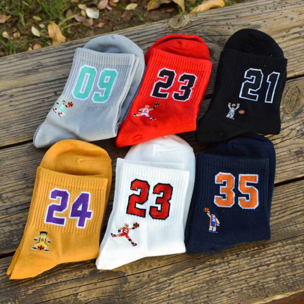 Basketball, Cotton, Sports & Outdoors, Cotton Socks