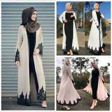 muslimstyle, Coat, Lace, Sleeve