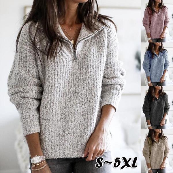 Women, Plus Size, sweaters for women, Sleeve