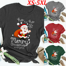 lettersprint, holidayshirt, Shorts, Necks