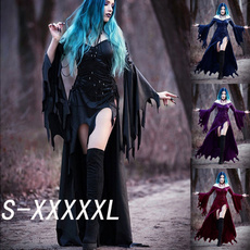 GOTHIC DRESS, Medieval, Halloween Costume, Dress