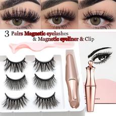 magneteyelash, False Eyelashes, liquideyeliner, Beauty