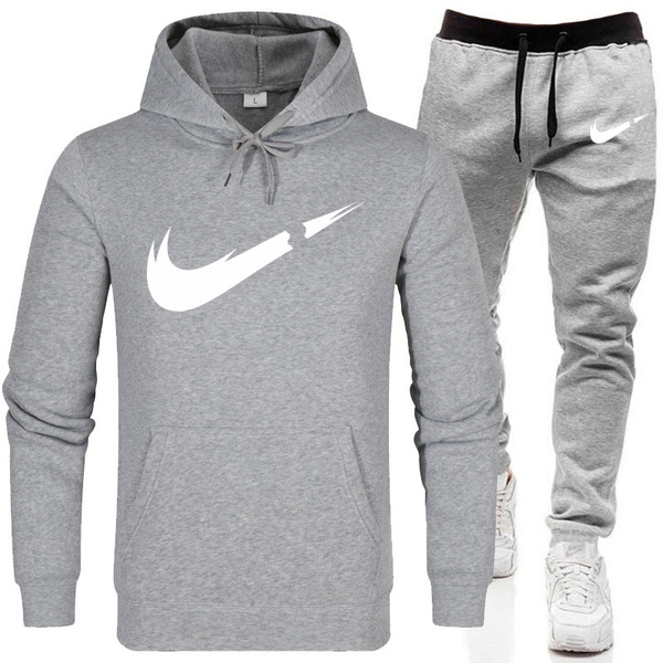 Autumn Winter Hoodie Pant Men Women Just Fuck It Sweatshirts Suit Casual Pullover Shirt Track Suit Walking by Wish