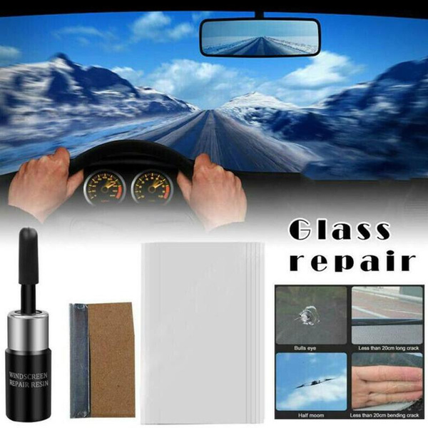 Car Windshield Windscreen Window Glass Repair Resin Kit Auto Glass Tools Kit