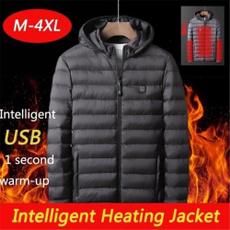 snowcoat, clothingforwinter, usb, menwomenheating