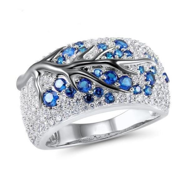Sterling, DIAMOND, wedding ring, anillosdeplata