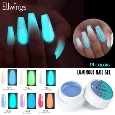 glowindark, nailglitter, nailextension, Nail Paint
