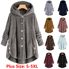Plus Size, fleecejacket, Winter Coat Women, Women Jacket