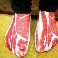 Hosiery & Socks, baconmeat, pork, Fashion