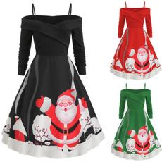 Plus Size, Long Sleeve, Tunic dress, Spaghetti Strap