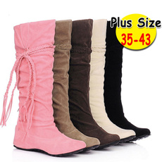 ankle boots, Knee High Boots, Plus Size, Winter