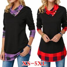 Plus Size, Long Sleeve, Winter, Women's Fashion