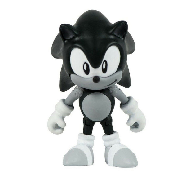 Action Figure Toy Sonic The Hedgehog Classic Sonic Black And White Wish
