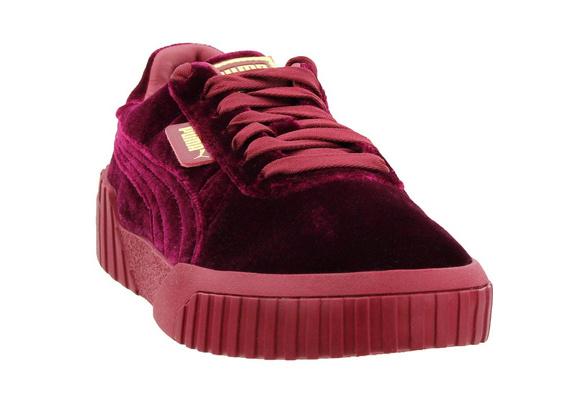 Puma Womens Cali Velvet Casual Sneakers