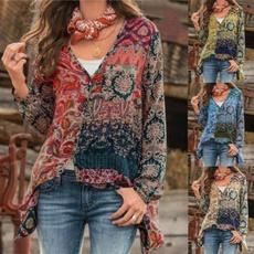 blouse, bohemian, Plus Size, Tops & Blouses