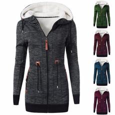 Fleece, jackets for women, Winter, coatsampjacket