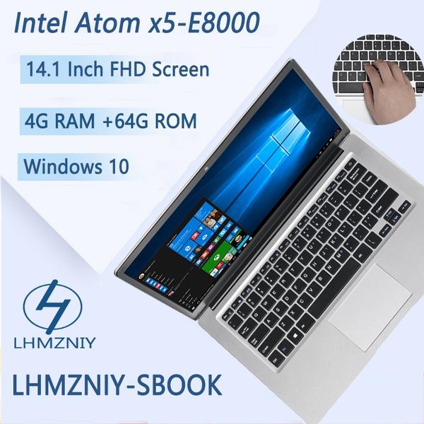 Lhmzniy Sbook 14 1 Inch Intel Atom X5 E8000 Processor Windows 10 Laptop 4gb Ram 64gb Emmc 1366 768 Ips Screen Laptop Computer Wish