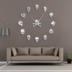 framele, Decor, art, skull