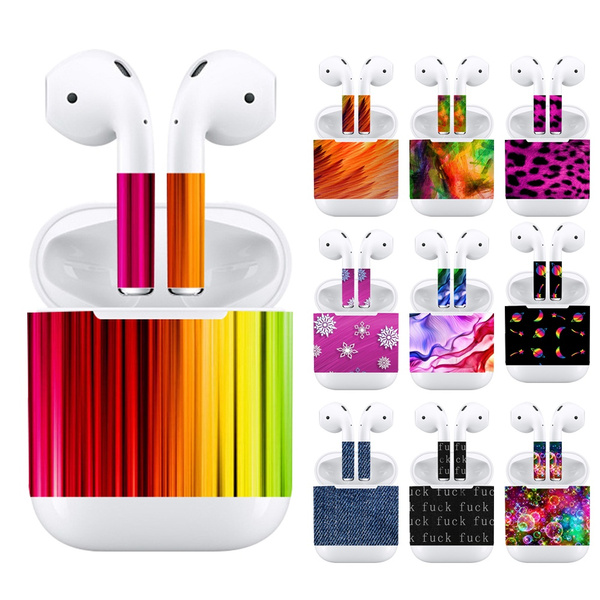 Luxury Earbuds Sticker Diy Personality Earphone Vinyl Decal Skin