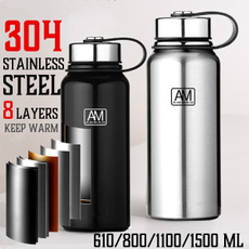 Steel, Stainless, Outdoor, Capacity