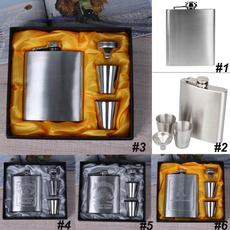 Steel, funnelcupset, flasksset, Cup
