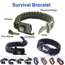 Utendørs, rope bracelet, Wristbands, camping