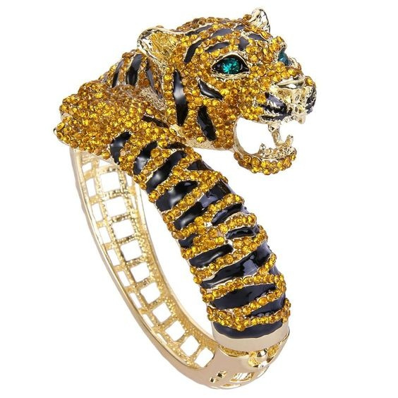 goldplated, Tiger, wedding ring, gold