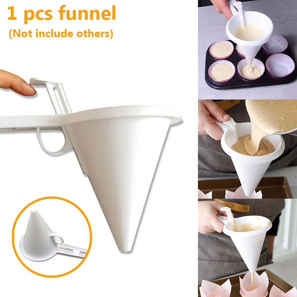 handheldfunnel, chocolatefunnel, funnel, Adjustable