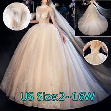 gowns, Tassels, Princess, Sleeve