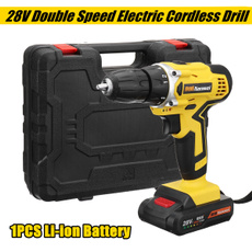 led, Electric, hammerdrill, Battery