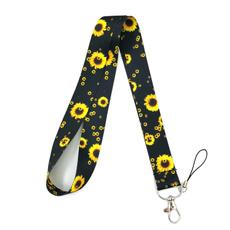 cute, necklanyard, flowerslanyard, strap