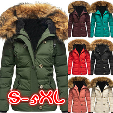 thickencoat, Casual Jackets, Plus Size, Long Sleeve
